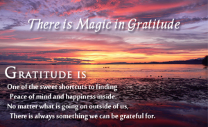 magic of gratitude