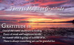 magic of gratitude
